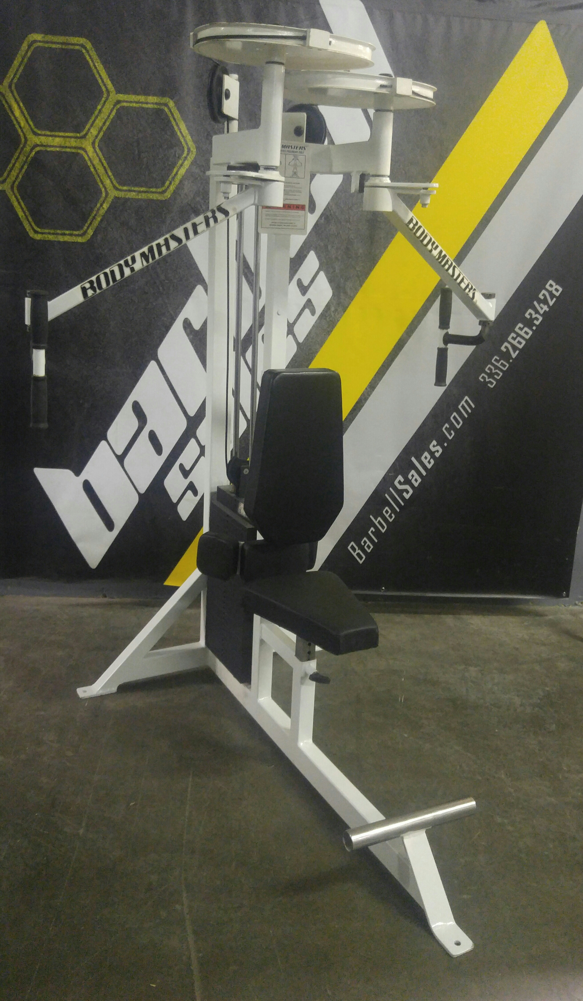 Body Masters pec fly rear delt – $1250   Barbell Sales: call